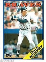 1988 Topps 90 Dale Murphy