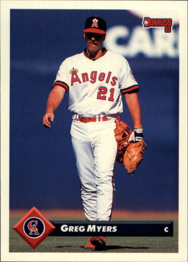 1993 Donruss 269 Greg Myers