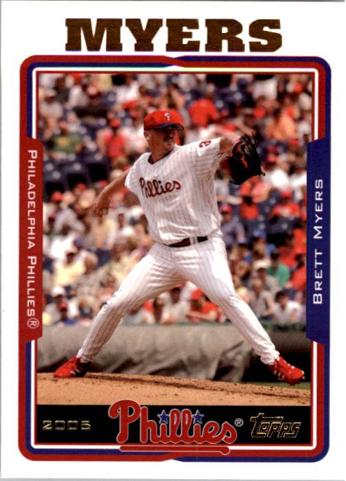 2005 Topps #69 Brett Myers