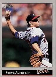 1992 Leaf 59 Steve Avery