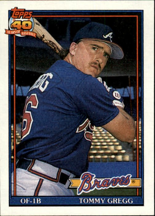 1991 Topps 742 Tommy Gregg