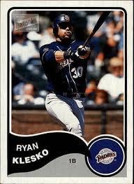 2003 Bazooka Minis #225 Ryan Klesko