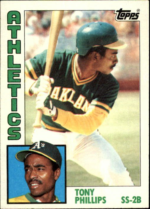1984 Topps 309 Tony Phillips RC