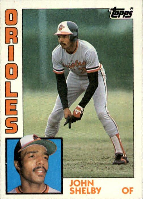 1984 Topps 86 John Shelby RC