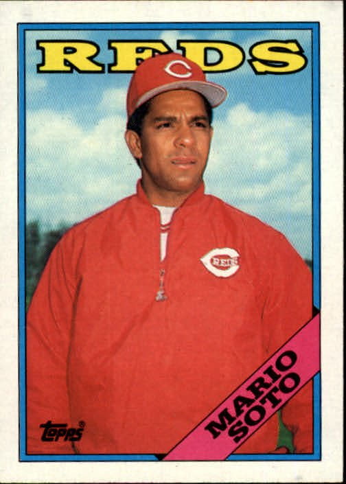 1988 Topps 666 Mario Soto