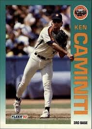 1992 Fleer 427 Ken Caminiti