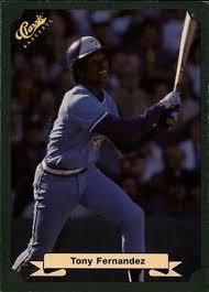 1987 Classic Game #57 Tony Fernandez
