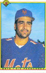 1990 Bowman 131 Sid Fernandez