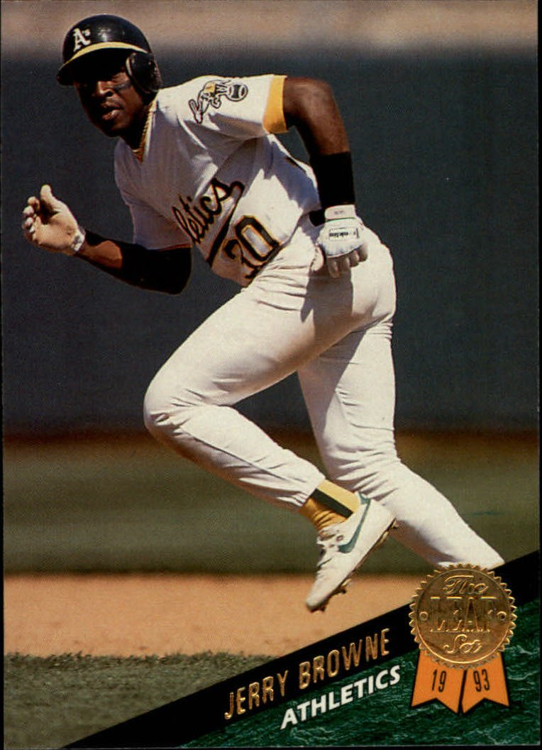 1993 Leaf #150 Jerry Browne