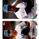 1993 Topps 497 Matt Petersen/Willie Brown RC