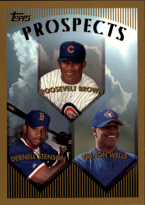 1999 Topps 436 Roosevelt Brown RC