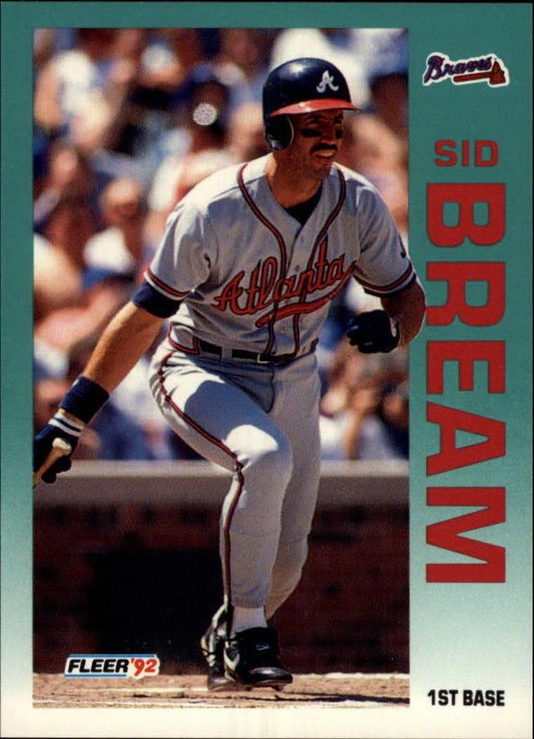 1992 Fleer 354 Sid Bream