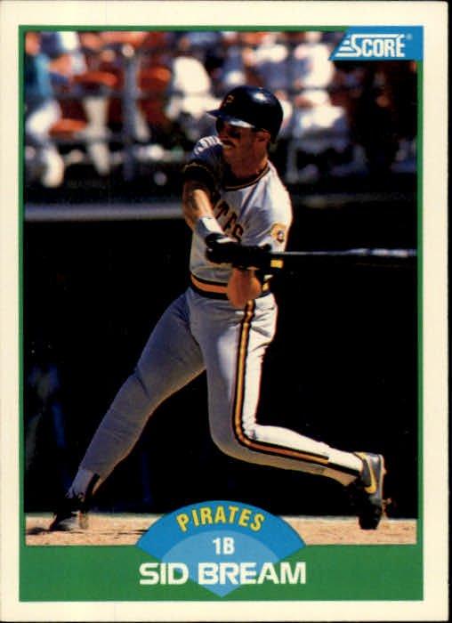 1989 Score #48 Sid Bream