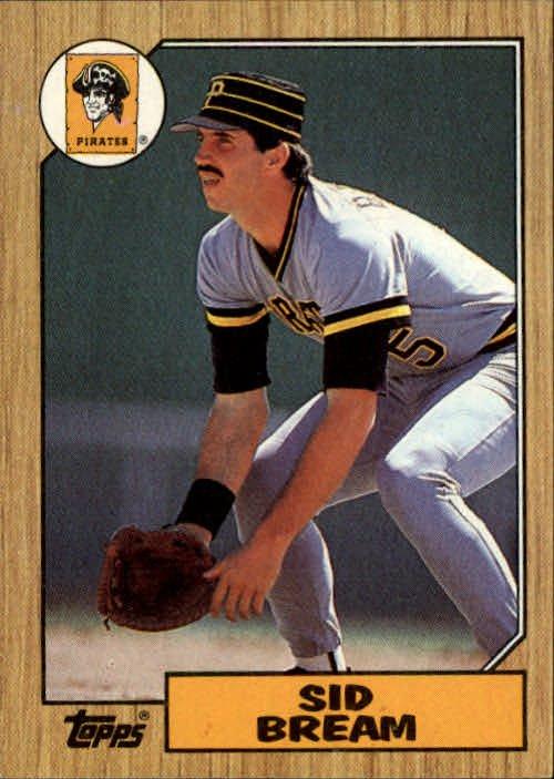 1987 Topps 35 Sid Bream