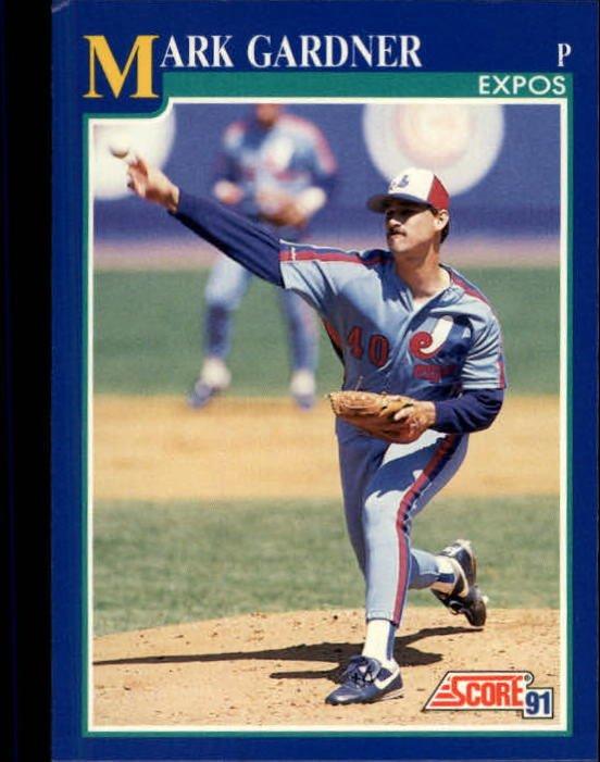 1991 Score 518 Mark Gardner