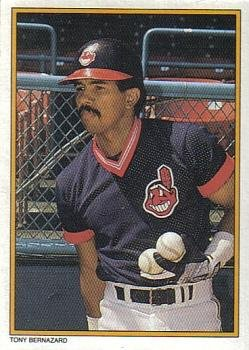 1987 Topps Glossy Send-Ins #43 Tony Bernazard