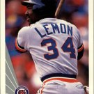 1990 Leaf 133 Chet Lemon