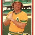 1981 Donruss 110 Mickey Klutts