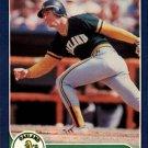 1986 Fleer #418 Mike Heath