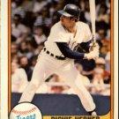 1981 Fleer #474 Richie Hebner