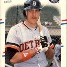 1988 Fleer 52 Dave Bergman