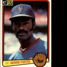 1983 Donruss #427 George Foster