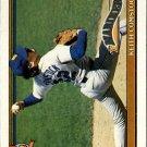 1991 Topps 337A Keith Comstock ERR