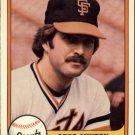 1981 Fleer #449 Greg Minton