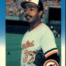 1987 Fleer #480 John Shelby