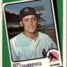 1988 Topps 663 Ron Blomberg TBC