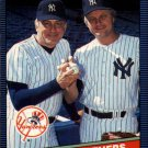 1986 Donruss 645 Phil Niekro/Joe Niekro