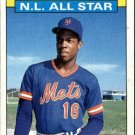 1986 Topps 709 Dwight Gooden AS