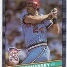 1986 Donruss 192 Tom Brunansky