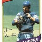 1980 Topps #530 Jim Sundberg DP