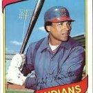 1980 Topps #534 Andre Thornton