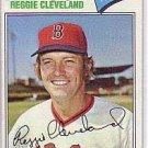 1977 Topps #613 Reggie Cleveland