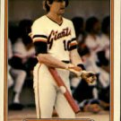 1982 Fleer 393 Johnnie LeMaster