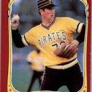 1986 Fleer Star Stickers 95 Rick Reuschel