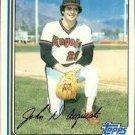1982 Topps 58 John D'Acquisto