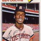 1977 Topps 122 Ben Oglivie