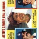 1984 Topps 717 Jim Palmer/Rollie Fingers/Ron Guidry LL