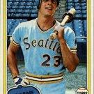1981 Topps 723 Bruce Bochte