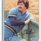 1982 Topps 221 Jim Slaton