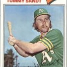 1977 Topps 616 Tommy Sandt RC