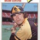 1977 Topps 78 Bob Davis