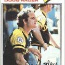 1977 Topps 9 Doug Rader