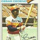 1977 Topps 90 Cesar Cedeno