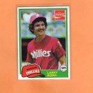 1981 Coke Team Sets 98 Larry Bowa