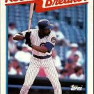 1989 Topps 4 Andre Dawson RB/Logs Double Figures/in HR and
