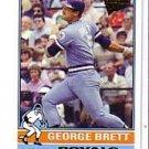2005 Topps All-Time Fan Favorites 61 George Brett